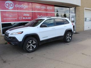 Used 2016 Jeep Cherokee Trailhawk / GPS Navigation / Back Up Camera for sale in Edmonton, AB