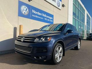 Used 2014 Volkswagen Touareg 3.0 TDI EXECLINE R-LINE for sale in Edmonton, AB