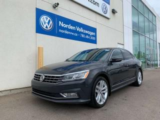 Used 2017 Volkswagen Passat HIGHLINE AUTO - LEATHER / SUNROOF for sale in Edmonton, AB