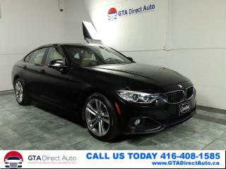 Used 2015 BMW 4 Series 428i xDrive GranCoupe Sport Nav Sun Cam Certified for sale in Toronto, ON