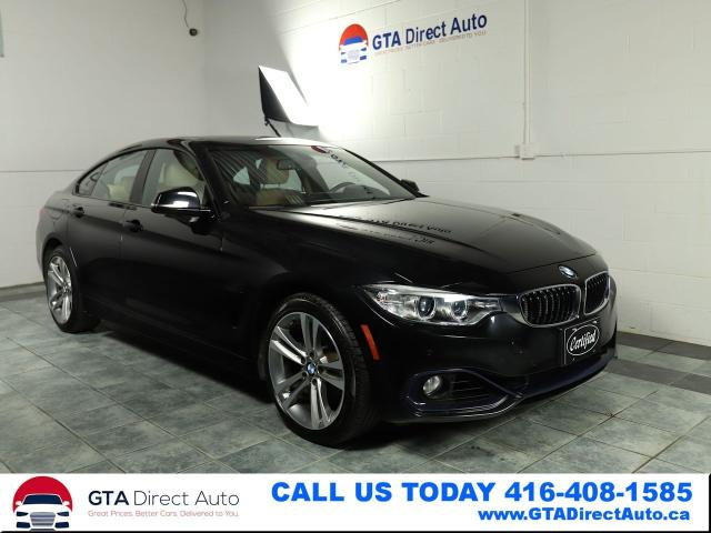 2015 BMW 4 Series 428i xDrive GranCoupe Sport Nav Sun Cam Certified