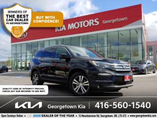 Used 2016 Honda Pilot EX-L   CLN CRFX   8 PASS  SUNROOF  LTHR  HTD SEATS for sale in Georgetown, ON