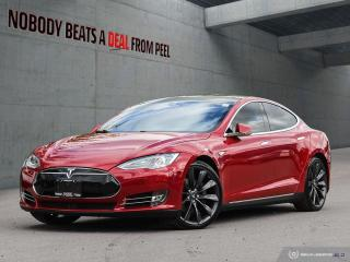 Used 2015 Tesla Model S 85D, Autopilot, 7 Seats, 21Whls, Smart Susp, Roof, for sale in Mississauga, ON