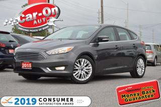 Used 2015 Ford Focus TITANIUM HATCHBACK LEATHER HTD SEATS SONY AUDIO PK for sale in Ottawa, ON
