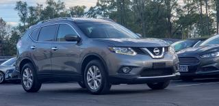 Used 2016 Nissan Rogue Certified 2 yr warranty Nav Camera Pano roof SV for sale in Mississauga, ON