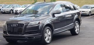 Used 2011 Audi Q7 DIESEL TDI Certified Nav Roof 7 Pass Certified for sale in Mississauga, ON