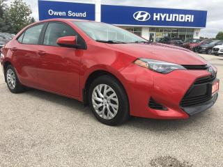 Used 2017 Toyota Corolla - for sale in Owen Sound, ON