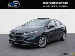 Used 2017 Chevrolet Cruze LT-SUNROOF-CAMERA-HEATED SEATS-NO ACCIDENTS for sale in Toronto, ON