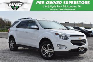 Used 2016 Chevrolet Equinox LTZ - Like New, Tow Package, Well Equipped for sale in London, ON