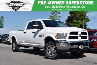 Used 2018 RAM 2500 SLT Outdoorsman - 8 Foot Box, 6.7L Cummins, Backup for sale in London, ON
