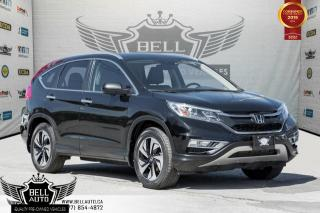 Used 2015 Honda CR-V Touring, AWD, NO ACCIDENT, NAVI, BACK-UP CAM, BLINDSPOT CAM for sale in Toronto, ON