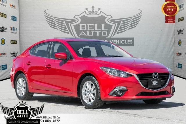 2015 Mazda MAZDA3 GS, NAVI, BACK-UP CAM, SUNROOF, BLUETOOTH, VOICE CMND