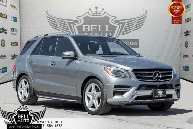 2015 Mercedes-Benz ML-Class ML 350 BlueTEC, AWD, 360 CAM, NAVI, PANO ROOF, BLIND SPOT