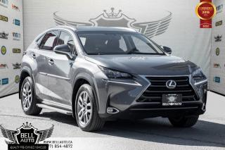 Used 2016 Lexus NX 200t AWD, NO ACCIDENT, COLLISION PREV, NAVI, BACK-UP CAM, SUNROOF for sale in Toronto, ON