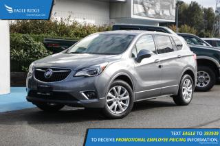 Used 2020 Buick Envision Preferred Heated Seats & Backup Camera for sale in Coquitlam, BC
