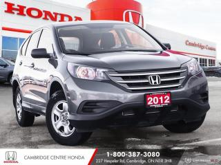 Used 2012 Honda CR-V LX HEATED SEATS | BLUETOOTH | REARVIEW CAMERA for sale in Cambridge, ON