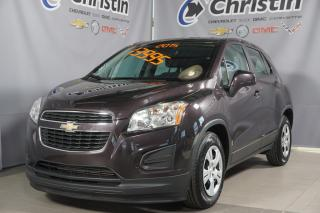 Used 2015 Chevrolet Trax AUTO A/C BLUETOOTH**38372 KM** for sale in Montréal, QC