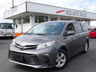 Used 2018 Toyota Sienna 8 Passenger, Power Slide Doors, Only 10032 kms for sale in Vancouver, BC