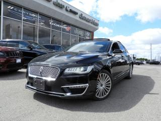 Used 2017 Lincoln MKZ Reserve NAVI/LEATHER/PANORAMIC SUNROOF/REAR CAMERA for sale in Concord, ON