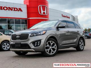 Used 2017 Kia Sorento SX for sale in Milton, ON
