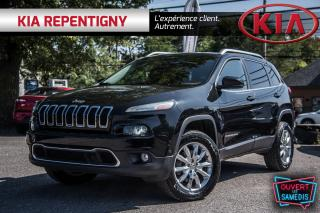 Used 2014 Jeep Cherokee 2014 Jeep Cherokee - 4WD 4dr Limited for sale in Repentigny, QC
