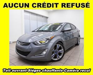 Used 2016 Hyundai Elantra GLS SPORT *TOIT* CAMERA *SIEGES CHAUFFANTS* PROMO for sale in Mirabel, QC