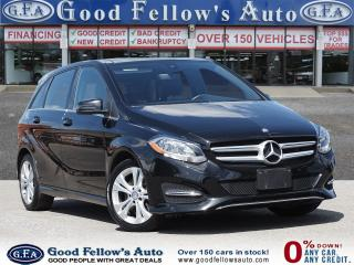 Used 2015 Mercedes-Benz B250 4MATIC, PANORAMIC ROOF, LEATHER SEATS, NAVIGATION for sale in Toronto, ON