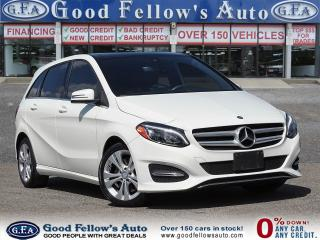 Used 2016 Mercedes-Benz B250 4MATIC, PANORAMIC ROOF, LEATHER SEATS, NAVIGATION for sale in Toronto, ON