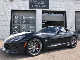 Used 2015 Dodge Viper GTS 640HP Laguna Interior Package for sale in Guelph, ON