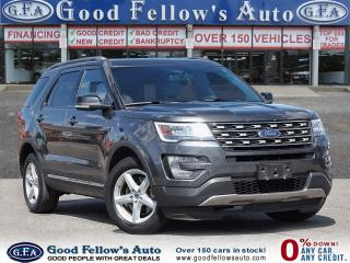 Used 2017 Ford Explorer XLT MODEL, 7 PASS, 6CYL 3.5L, AWD, REARVIEW CAMERA for sale in Toronto, ON