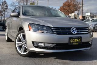 Used 2013 Volkswagen Passat CERTIFIED - HIGHLINE - NO ACCIDENTS - DIESEL for sale in Oakville, ON