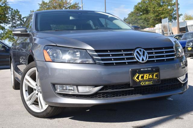 2013 Volkswagen Passat HIGHLINE - NO ACCIDENTS - DIESEL