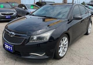 Used 2011 Chevrolet Cruze LT Turbo w/1SA for sale in Hamilton, ON
