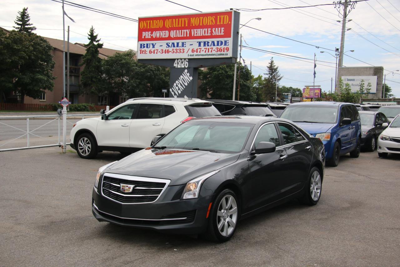 Ontario Quality Motors >> Used 2015 Cadillac Ats Standard Rwd For Sale In Toronto