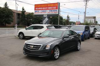 Used 2015 Cadillac ATS Standard RWD for sale in Toronto, ON
