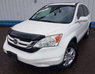 Used 2010 Honda CR-V EX-L 4WD *LEATHER-SUNROOF* for sale in Kitchener, ON