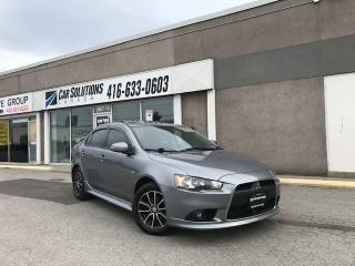 Used 2015 Mitsubishi Lancer AUTO-LEATHER-SUNROOF for sale in Toronto, ON