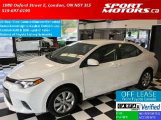Used 2015 Toyota Corolla LE+Camera+Bluetooth+Xenons+Heated Seats+A/C for sale in London, ON