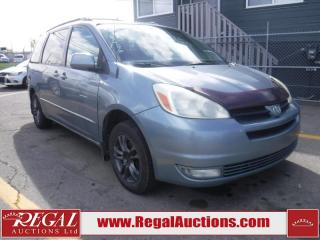 Used 2004 Toyota Sienna LE 4D WAGON for sale in Calgary, AB