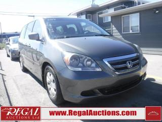 Used 2007 Honda Odyssey WAGON for sale in Calgary, AB