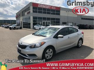 Used 2015 Kia Forte LX for sale in Grimsby, ON