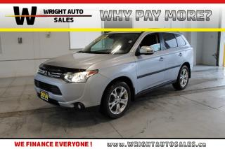 Used 2014 Mitsubishi Outlander GT|7 PASSENGER|LEATHER|SUNROOF|134,058 KM for sale in Cambridge, ON