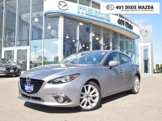 Used 2015 Mazda MAZDA3 GT|ONE OWNER|NO ACCIDENTS|1.99% FINANCE AVAILABLE| for sale in Mississauga, ON