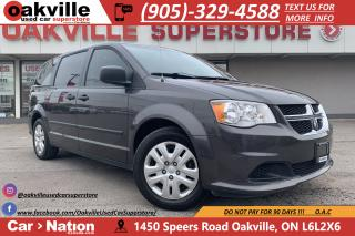 Used 2016 Dodge Grand Caravan SE | B/U CAM | BENCH SEATING | 7 SEATS for sale in Oakville, ON