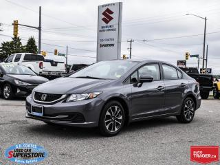 Used 2014 Honda Civic EX ~Heated Seats ~Power Moonroof ~Alloy Wheels for sale in Barrie, ON