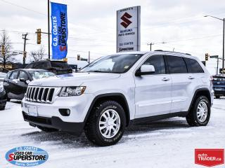 Used 2011 Jeep Grand Cherokee Laredo 4x4 ~Heated Leather ~Panoramic Moonroof for sale in Barrie, ON