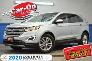 Used 2017 Ford Edge SEL LEATHER PANO ROOF REAR CAM HTD SEATS for sale in Ottawa, ON