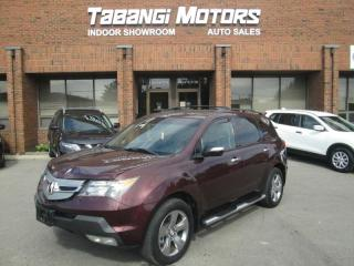 Used 2007 Acura MDX ELITE - NO ACCIDENTS - NAVIGATION - REARCAM - LEATHER -SUNRO for sale in Mississauga, ON