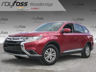 Used 2017 Mitsubishi Outlander ES HEATED SEATS, BACKUP CAM, AWD for sale in Woodbridge, ON