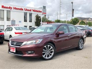 Used 2015 Honda Accord Sedan Sport - Sunroof - Alloys - Rear Camera for sale in Mississauga, ON